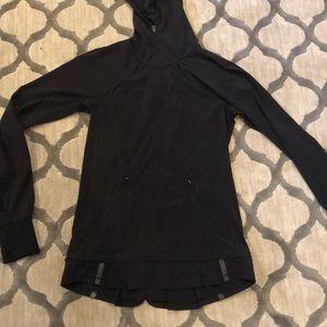 Lululemon black hoodie, size 2